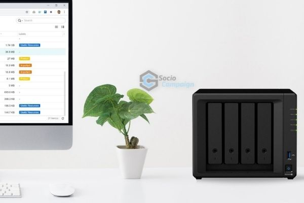 Network Attached Storage Perangkat Backup Smart